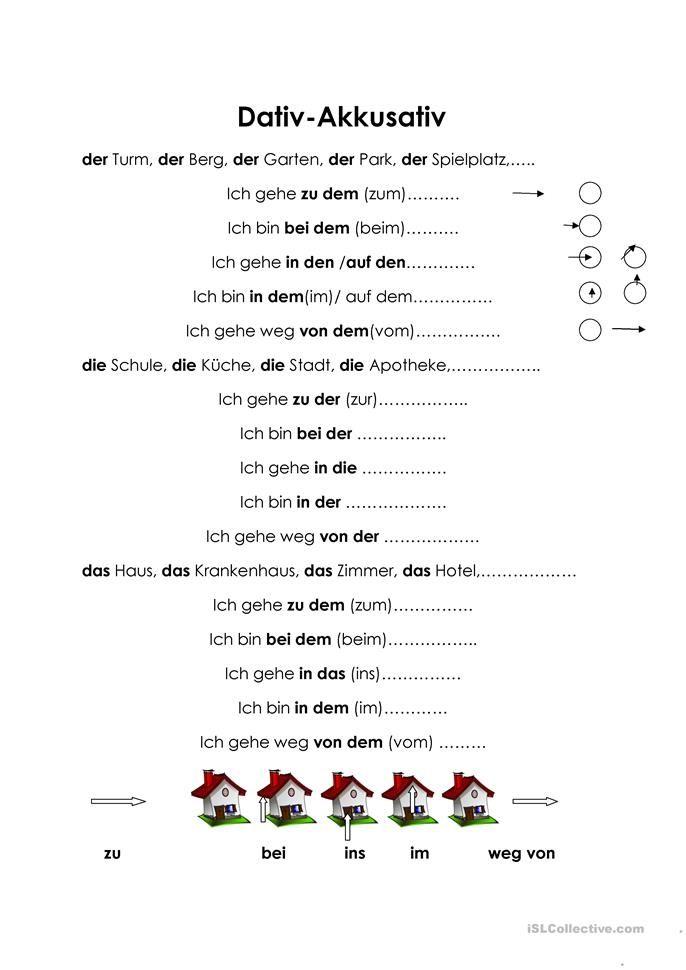 dativ akkusativ nem ina deutsch deutsch lernen und deutsch bungen. Black Bedroom Furniture Sets. Home Design Ideas