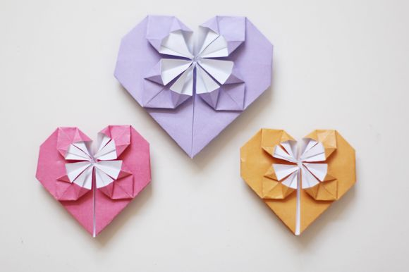 DIY: A Sweet Origami Heart