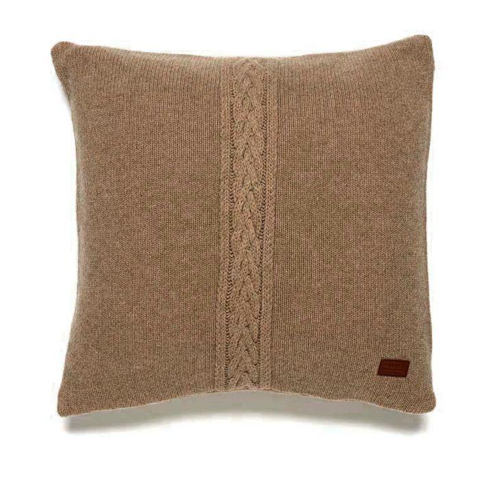 Gant Wool Cable Knit Kissenbezug 50 x 50 cm seawood