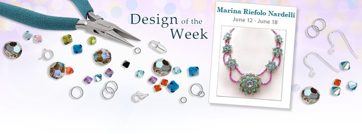 """""""Design of the Week"""" on Fire Mountain Gems and Beads FB's page"""