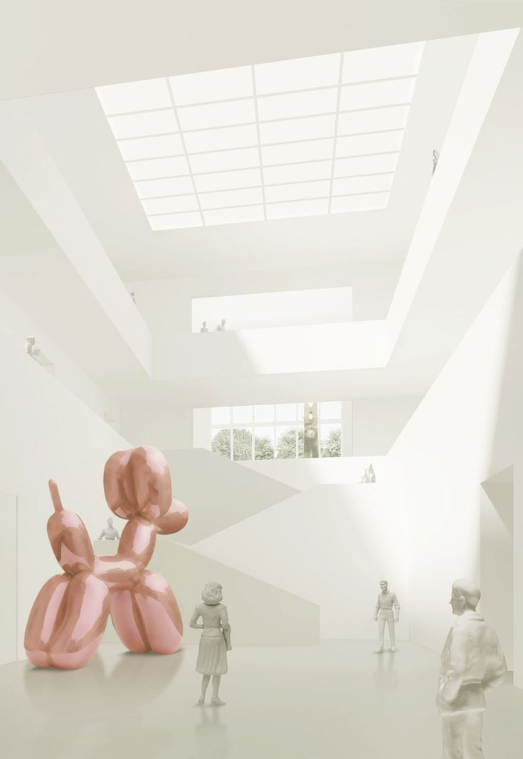David Chipperfield Architects — Extension of the Kunsthaus Zürich — Image 5 of 19 — Europaconcorsi