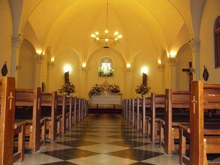Vista interior del Santuario Nuestra Señora de la Merced.