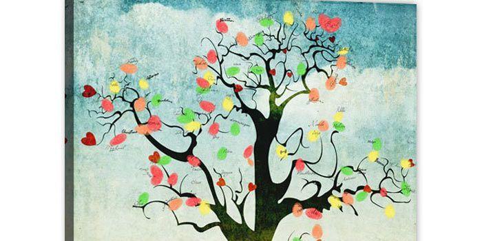 Die besten 25 Hochzeitsbaum fingerabdruck Ideen auf