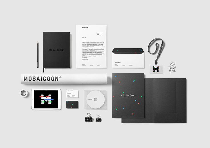MOSAICOON — Rebranding personal concept on Behance