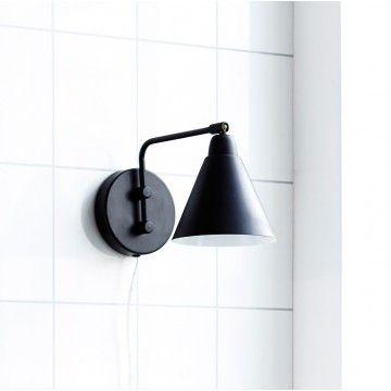 House Doctor Vägglampa väggspot Game svart