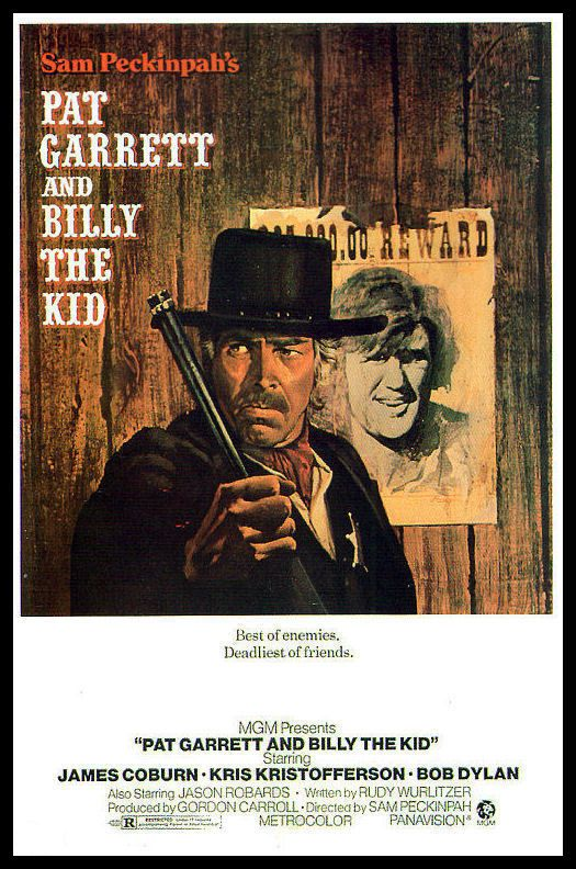 Pat Garrett and Billy The Kid FRIDGE MAGNET 6x8 James Coburn Movie Poster