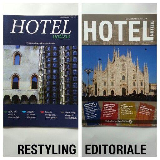 Restyling Editoriale di una rivista settoriale