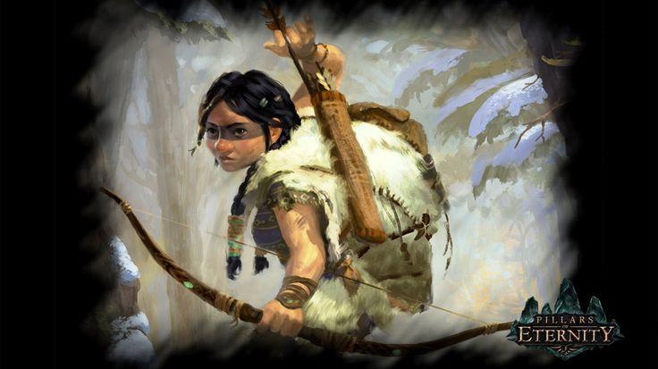 Female Ranger from Pillars of Eternity