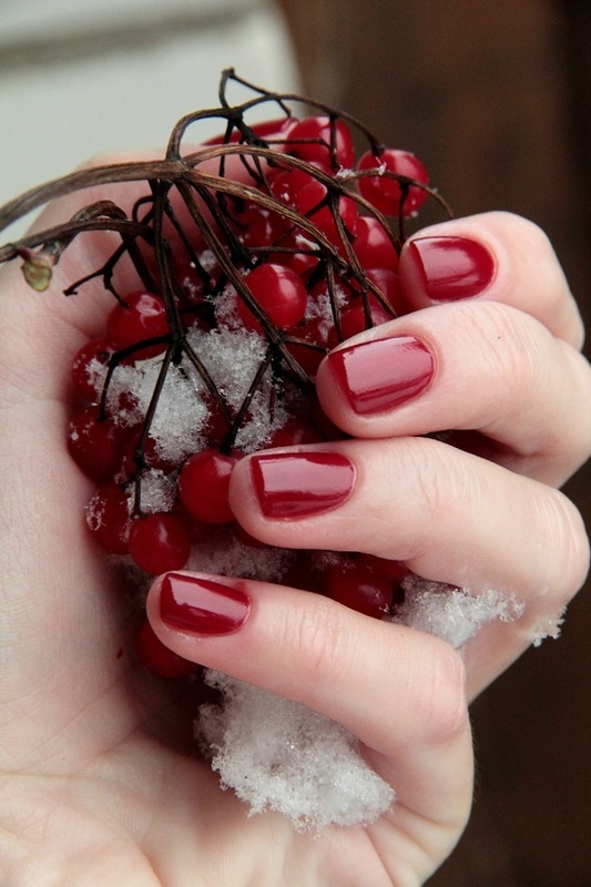 OPI Malaga Wine  Classic red.....that I am in love with.