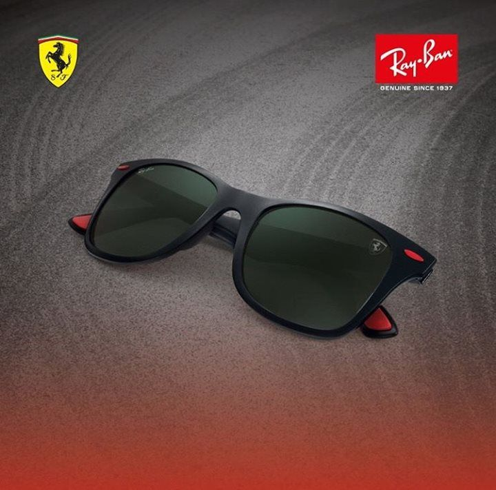 62889dee2 Looking for the perfect gift for him? Shop the Ray-Ban Ferrari collection  now online. #rayban #ferrari #scuderia #giftideas #christmas #sunglasses ...