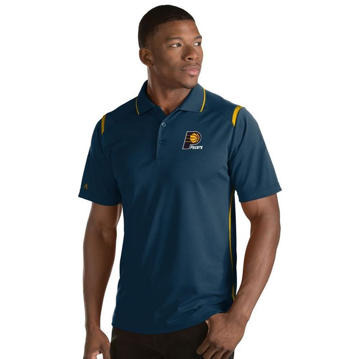 Men's Antigua Indiana Pacers Merit Polo, Size: Medium, White Oth