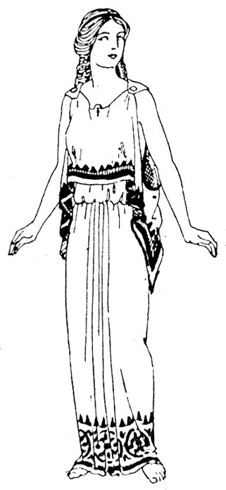 athens clothing coloring pages - photo#28