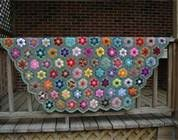 African Flower Crochet - Bing Images: Crochet Blankets, Crochet Granny, Flowers Crochet, Crochet Afghans, Flowers Patterns, Flowers Beds, Africans Flowers, Crochet Patterns, Flowers Blankets