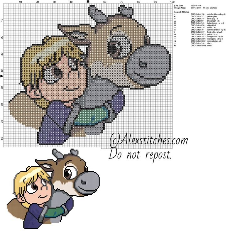 手机壳定制sales tax calculator by zip code Baby Kristoff and Sven disney frozen free cross stitch pattern  x   colors