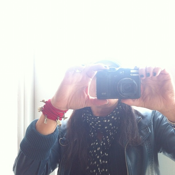 The amazeballs @ginamilicia giving me photography tips on my new camera!