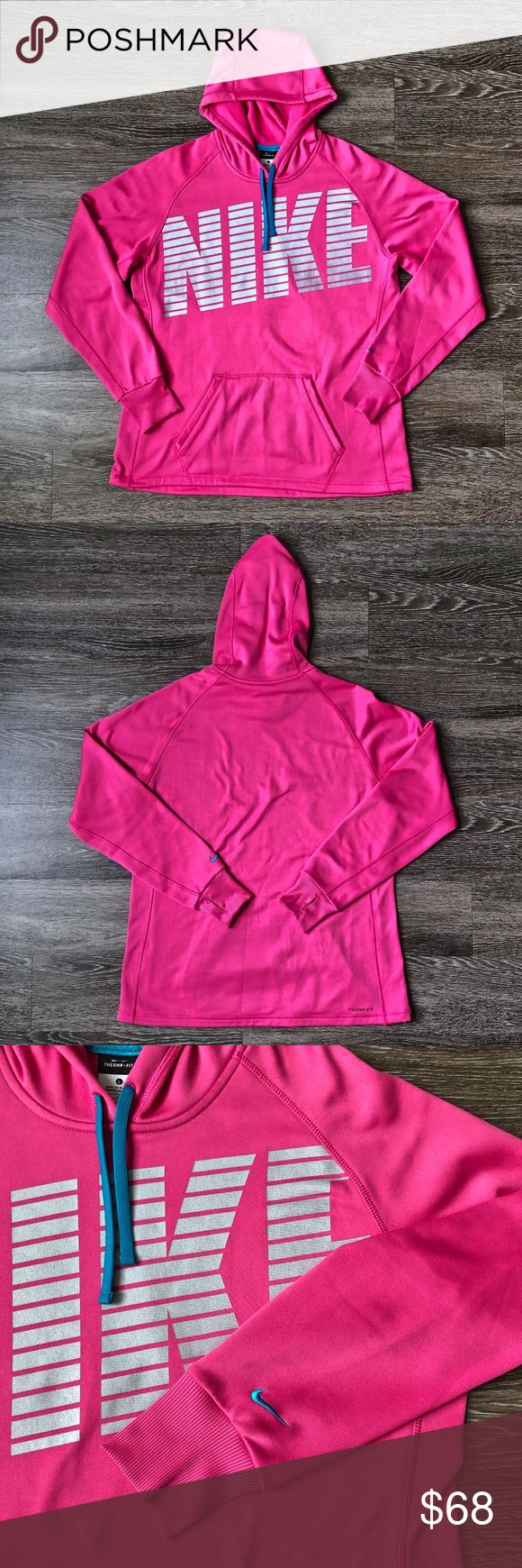 Nike Therma Fit Hot Pink Pullover Hoodie Pullover Hoodie Pullover Hoodies [ 1740 x 580 Pixel ]