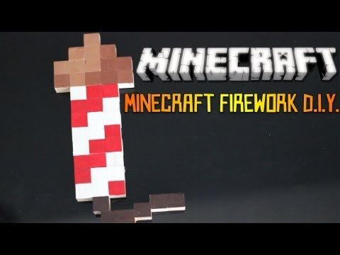 A Minecraft firework for the Fourth of July!