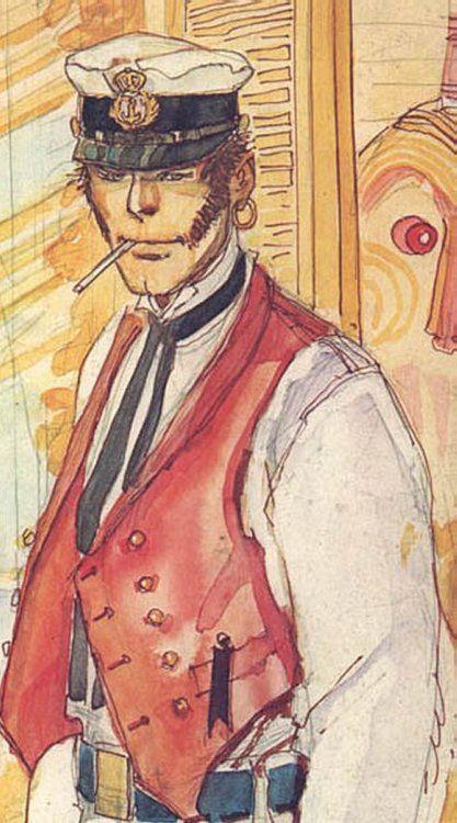 Corto Maltese Hugo Pratt
