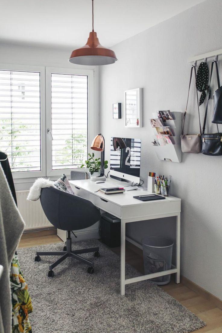 Arbeitszimmer Einrichten Stilvolle Einrichtungsideen Fur Das Home Office Office Furniture Design Ikea Home Office Cheap Office Furniture