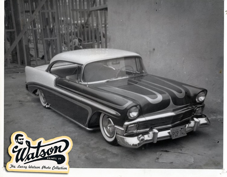 1956 Chevrolet painted by Watson
