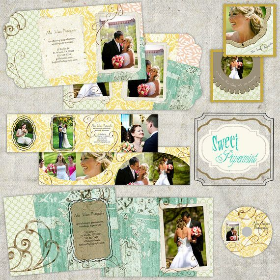 Summertime Meadow Promotional or Wedding Pack   by SweetPapermint, $18.00