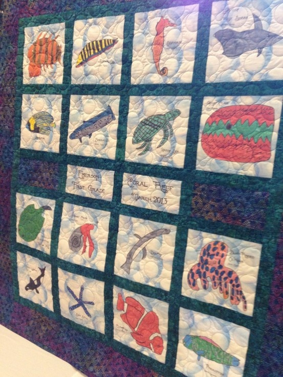 9 best classroom quilts images on Pinterest | Fabric crafts ... : classroom quilt ideas - Adamdwight.com