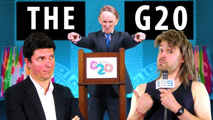 The G20 - feat Tony Abbott & Scott Ludlam [RAP NEWS 29]