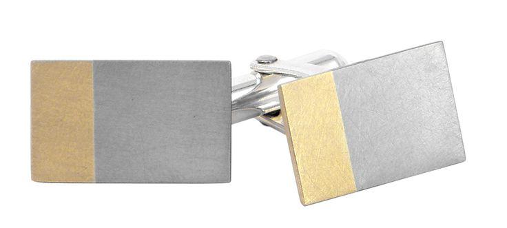 Married metal cufflinks