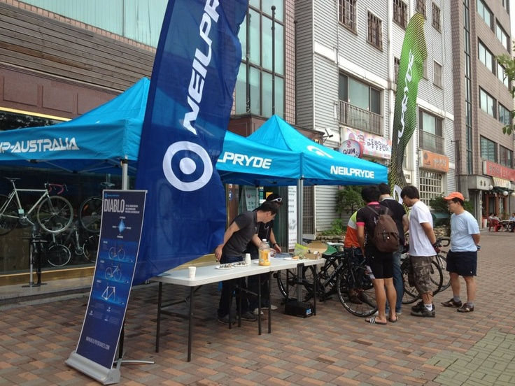 NeilPryde Bike Test Camp in Seoul