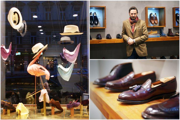 Kurator prague design shop recommends: Cassic Shoes, Ujezd, Prague1. For more informations and tips on Prague local design and fashion, please check the Taste of Prague food blog, or www.facebook.com/kuratorpraha Photo: Kurator, Tereza Voriskova, Jan Kosatko