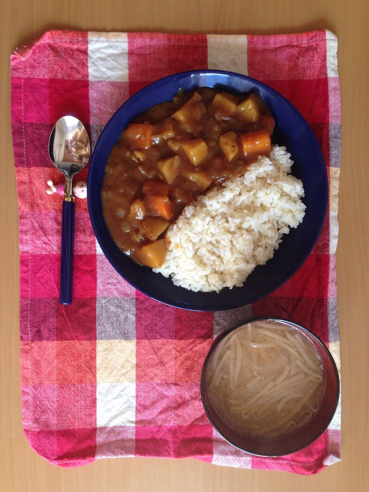 iittala・・・♡・・・teema  My husband cooked the curry to me White Day