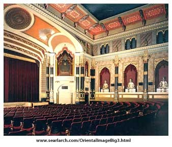 The Oriental Theater, Milwaukee WI