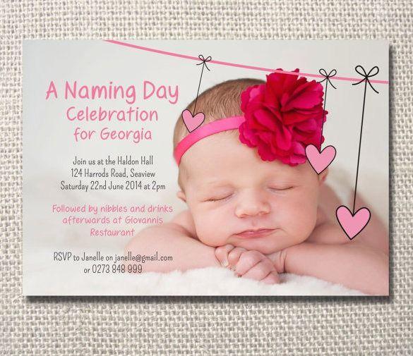 Baby Name Ceremony Invitation Sms Naming Ceremony Invitation Naming Ceremony Invitation Cards