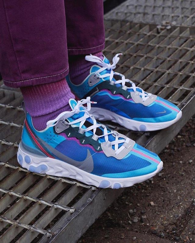 4c07456d74760 The Nike React Element 87  Royal Tint  is now available in-store   sneakersnstuff ---