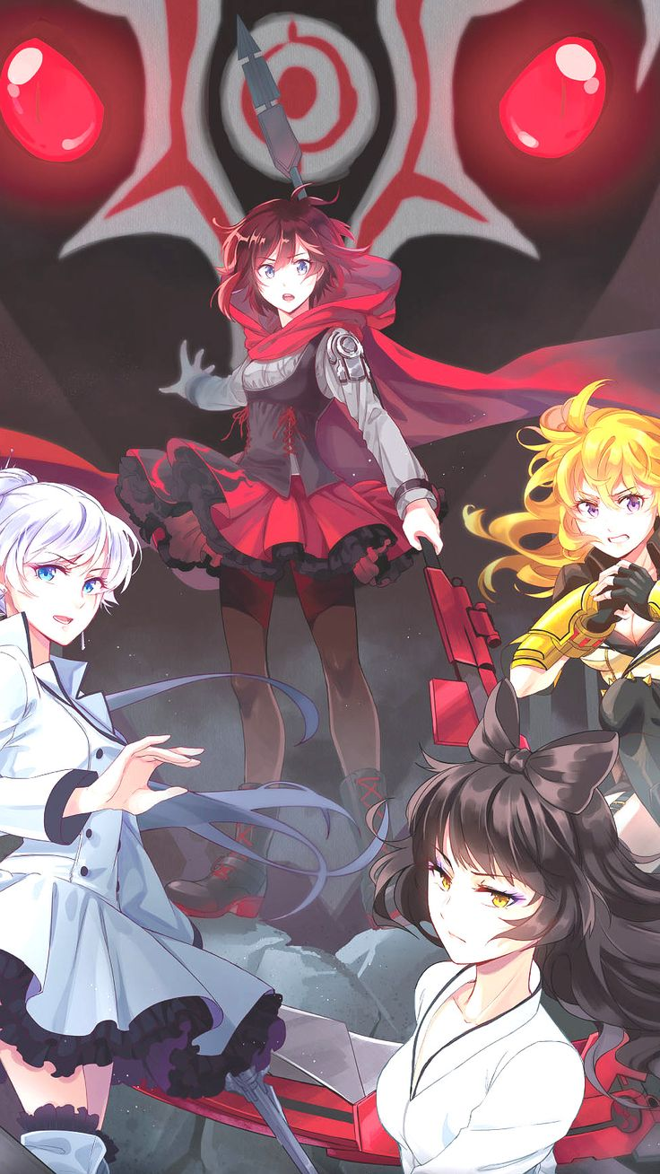 Team RWBY! (Vol 2 art)