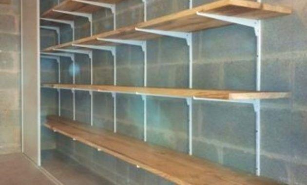 cagibi etageres rangement garage pas