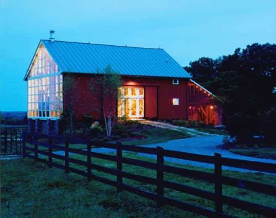 Old Dairy Barn Converted Into A House For The Home