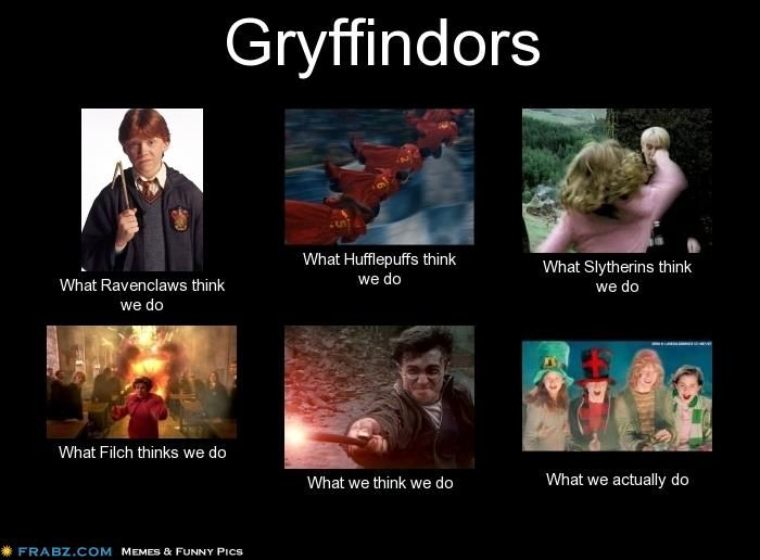 Well the hufflepuff one is unaccurate I won't denie the other houses