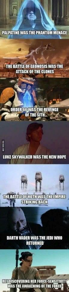 Feel the all spoiler from star wars