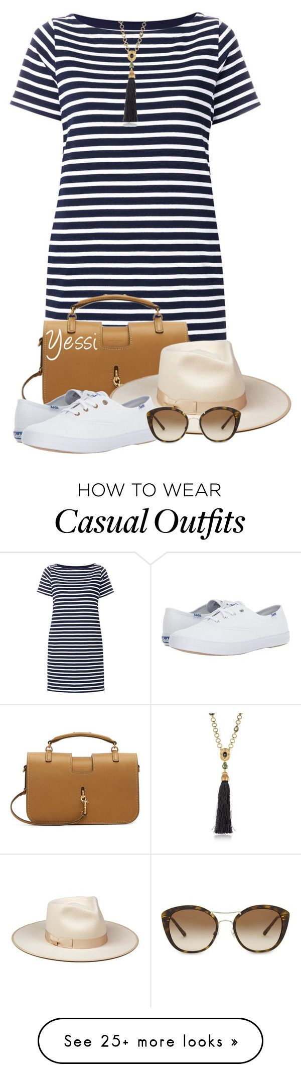"""""""~  Dresses & Sneakers  ~"""" by pretty-fashion-designs on Polyvore featuring Sacai, Yves Saint Laurent, Keds, Oscar de la Renta and Burberry"""