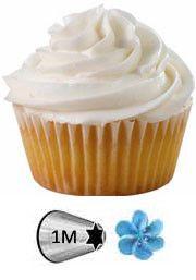 TABLEAU DES EMBOUTS DE POCHE A DOUILLE WILTON / EFFETS ILLUSTRES pour gâteau froufrous, cupcakes …