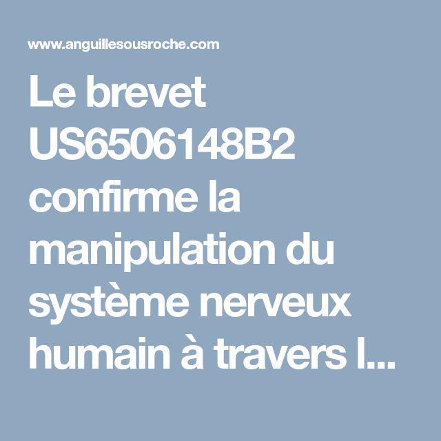 Le brevet US6506148B2 confirme la manipulation du système nerveux humain à travers la TV et les ordinateurs