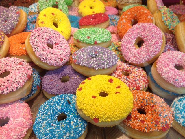 Donuts in de Markthal april 2017