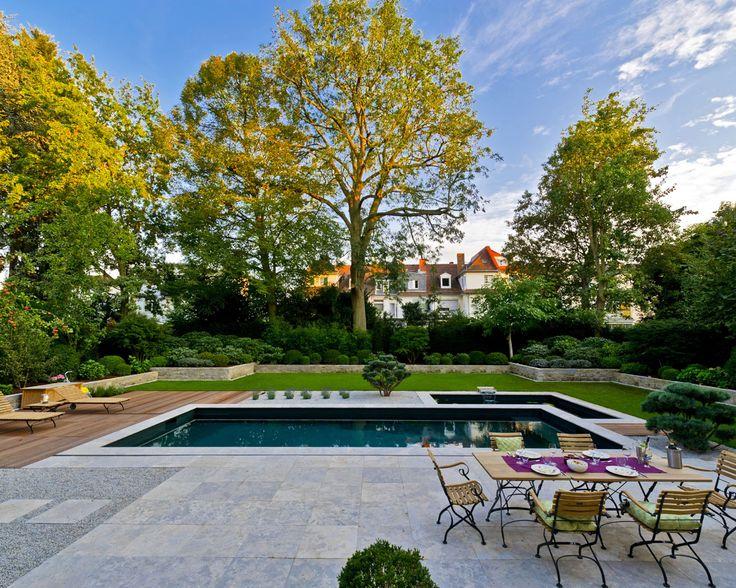 Формальные Gardens - Водный сад Kirchner