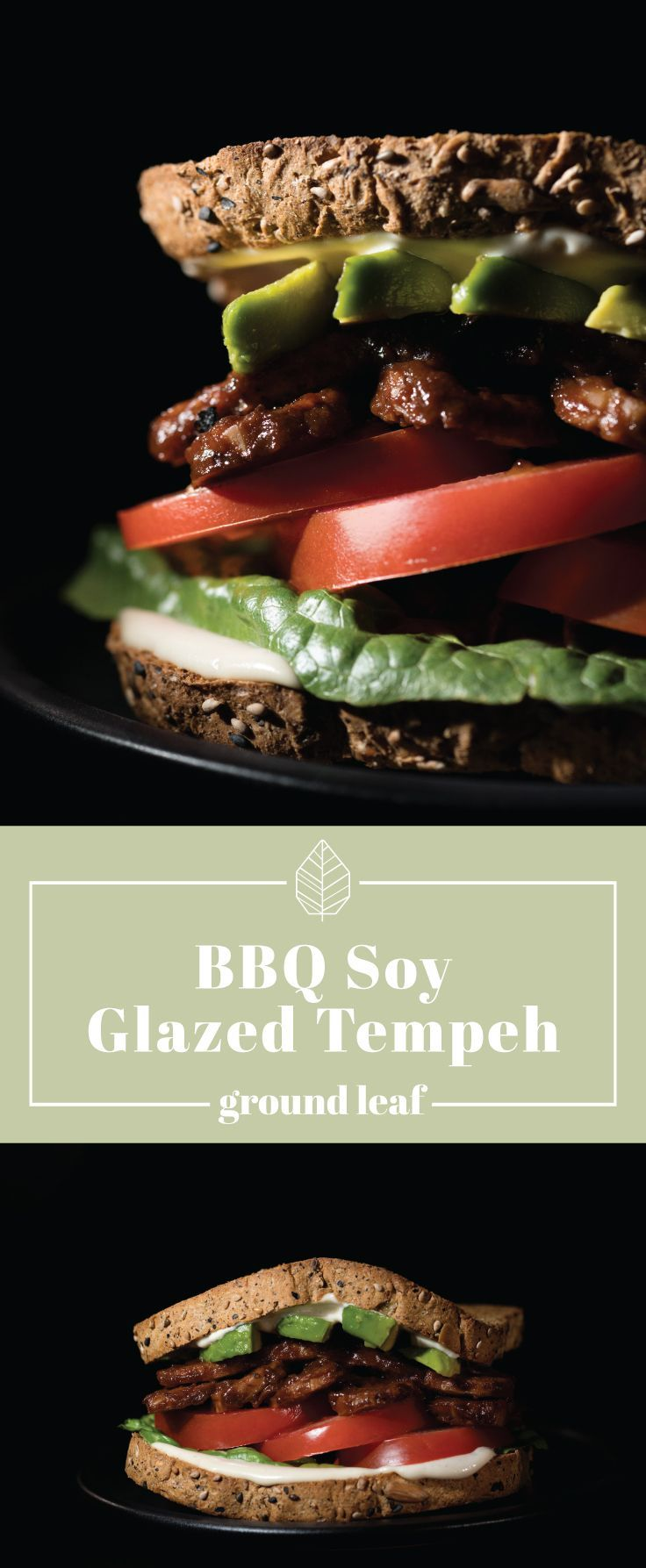 BBQ Soy Glazed Tempeh | Barbecue soy glazed tempeh is a healthy, mouthwatering spin on a summer tradition. Kick the flavor up a notch with this delicious vegan tempeh sandwich for the whole family to enjoy. tempeh recipes, tempeh recipes vegan, barbecue tempeh, bbq tempeh, vegan recipes