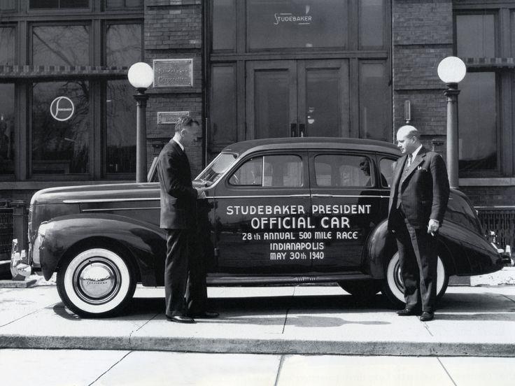 Dodge Dealership Indianapolis >> 1940 Studebaker President Cruising Sedan / Indy 500 Pace ...