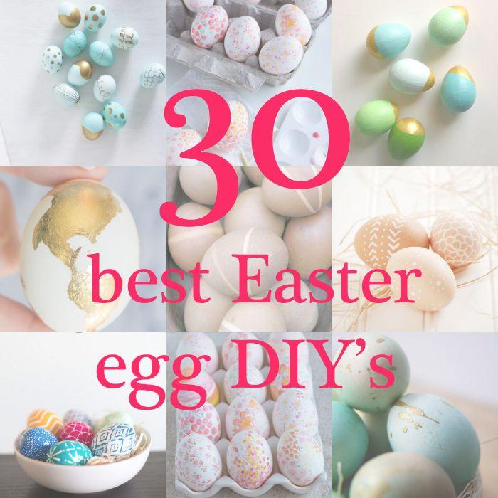 easter egg diys