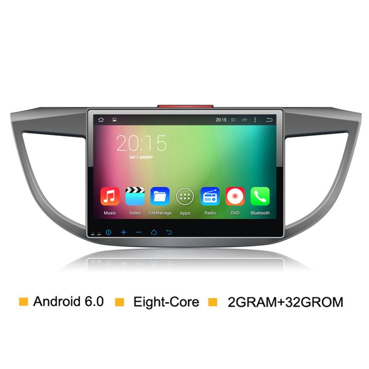 Eight core 2G RM Android 6.0 Car DVD Video Player For Honda CRV CR-V 2012 2013 2014 2015 Radio GPS Navigation Stereo BT System
