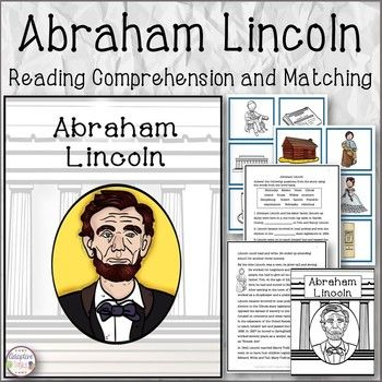 Abraham Lincoln is a product that talks about his life and accomplishments.