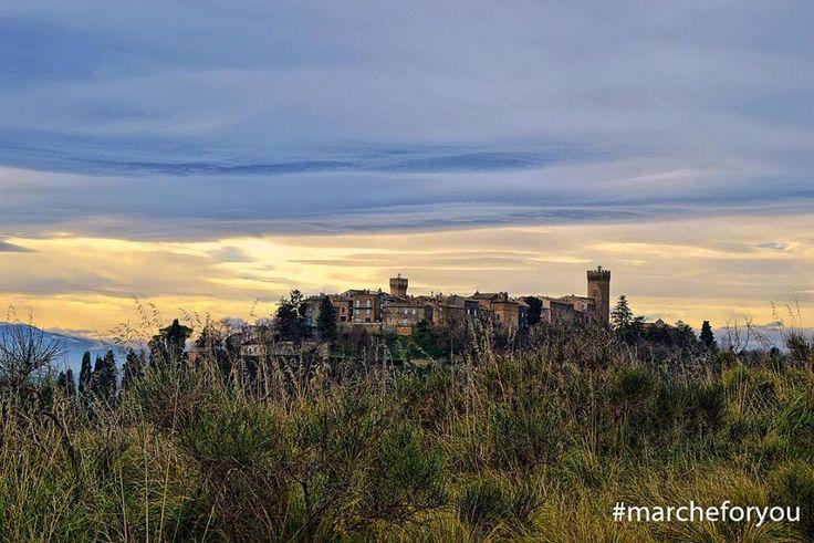 """#Moresco - #Fermo """"Moresco - il borgo dove il tempo si è fermato"""" by @milena755"""